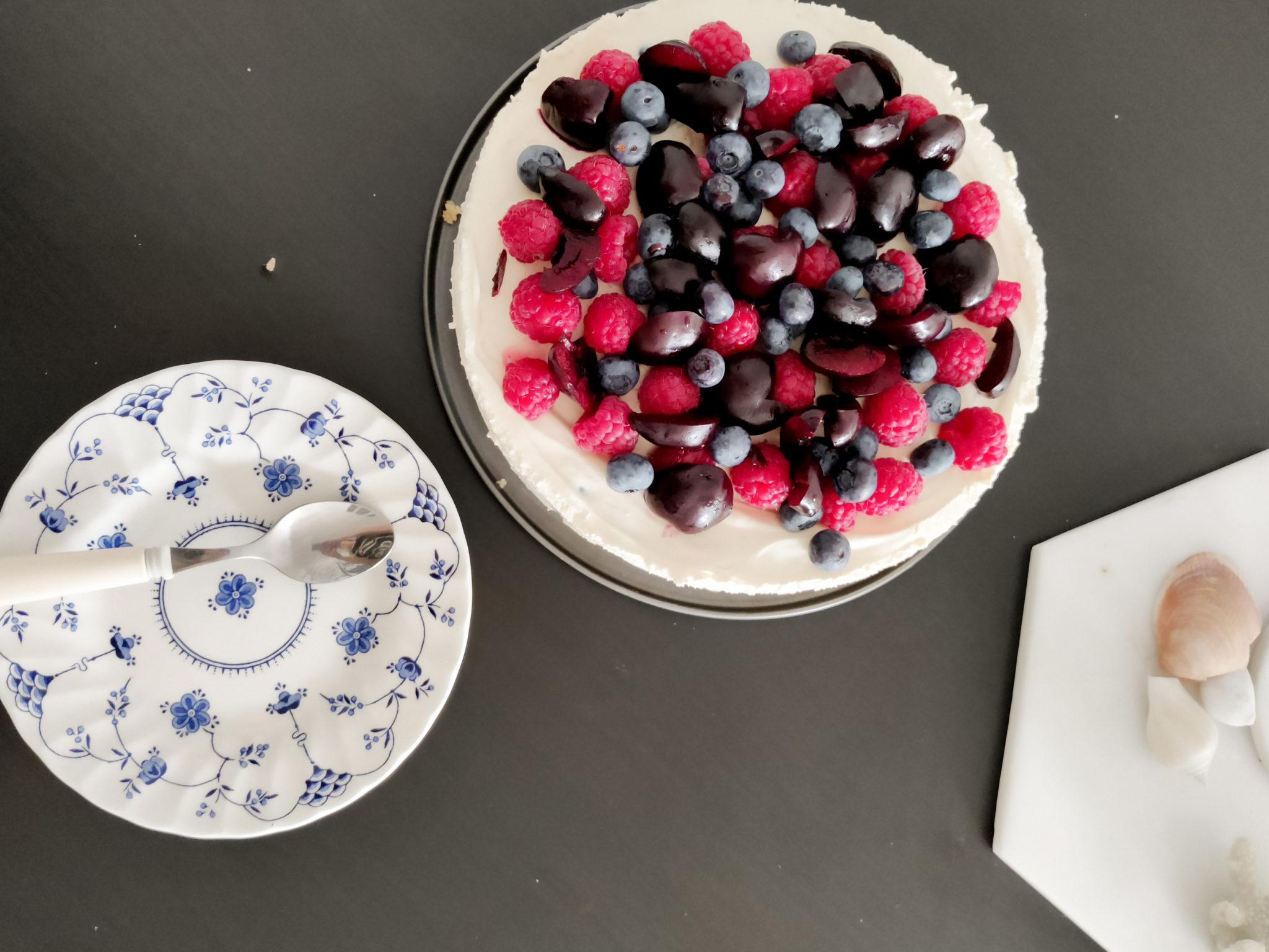 Sokeriton ja gluteeniton juustokakku - BMH - Big mamas home by Jenni
